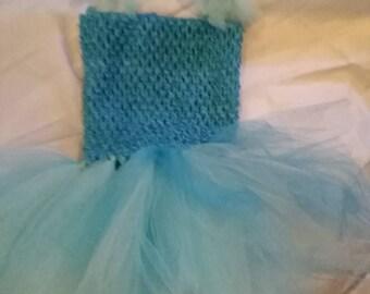 Infant Frozen themed tutu