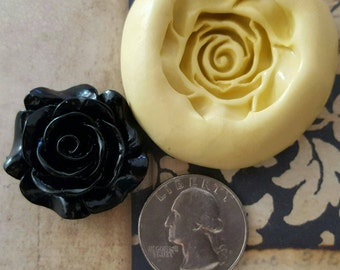 Rose Mold for polymer clay, resin, candy, soap, wax, fondant, etc.