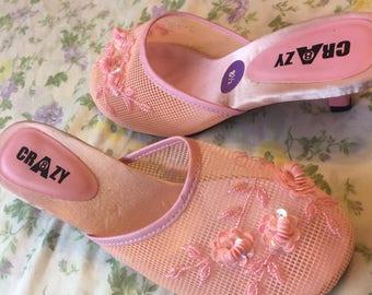 Fairy pink heels
