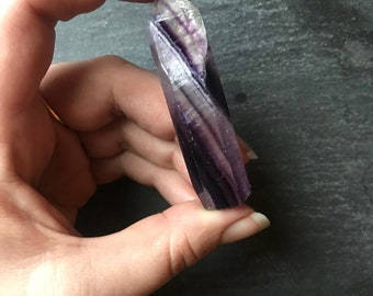 Fluorite Crystal Freestanding Point