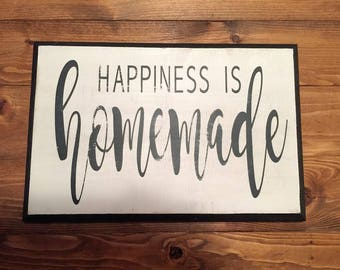 Happiness Is Homemade Distressed Home Decor