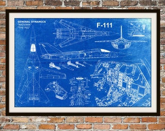 Blueprint art of chicago bridge technical drawings engineering blueprint art of f 111 ardvark pig jet planetechnical drawings engineering drawings patent blue print malvernweather Choice Image