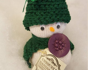 Snowman/girl decoration/stocking stuffers, for basket gifts, etc.