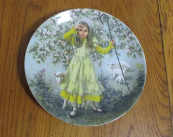 Little Bo Peep Collectable Plate
