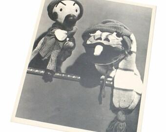 Souvenirs du film Kukla Fran et Ollie pour enfants voir la Promo publicité Photo 1947