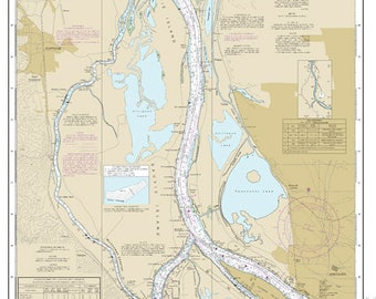 Columbia River Saint Helens to Vancouver 18525