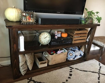 Rustic Sofa table/Tv table or entry table