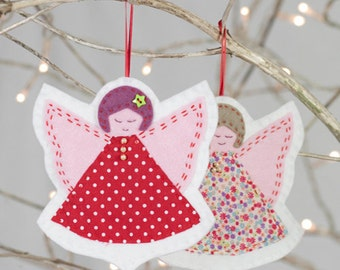 Christmas Angels Sewing Kit