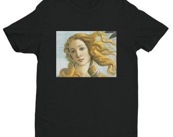 Sandro Botticelli, Birth of Venus (detail)  (b) - Short Sleeve T-shirt