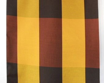Sixties curtain fabric, unused vintage, by the meter