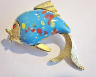 Colorful Fish Pin