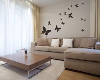 Wall Sticker Butterflies (211n)
