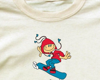 Happy Snowboarder Shirt