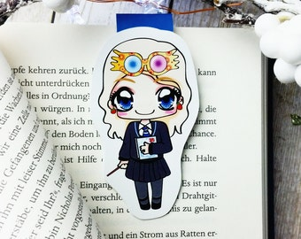 """Magnetic bookmarks """"Luna Lovegood"""" - inspired by Harry Potter"""
