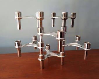 Vintage Seca Stacking Candleholders
