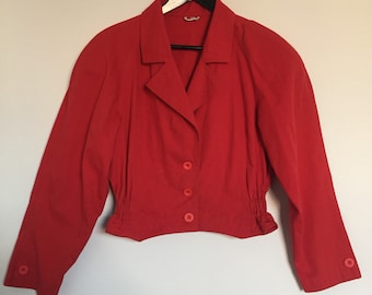 Vintage Red Piccolo Jacket
