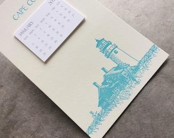 Cape Cod Cityscape Postcard Calendar