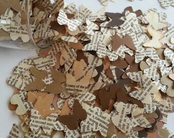 500 Rustic butterfly confetti, Butterfly confetti, Butterfly punches, Rustic wedding confetti, Wedding confetti