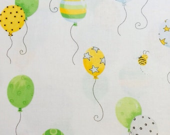 100% cotton Baby Ballon 112cm wide.