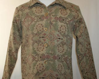 Vintage Coldwater Creek Ladies Jacket Size Small
