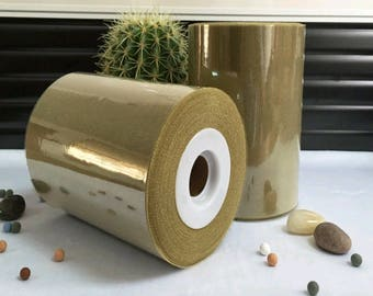 soft tulle bronze sparkly meter for tutu and decoration.