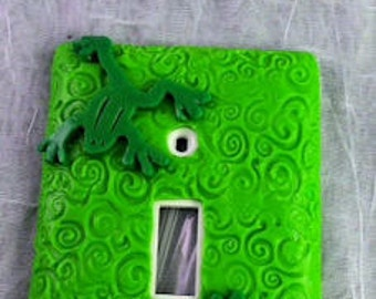 Frog Single Switch Plate