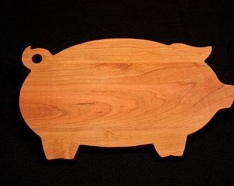 Chopping Block, Couple cutting board, Custom Cutting Board, Personalized Cutting Board, Custom Chopping Board, Wood Cutting Board, Pig Board