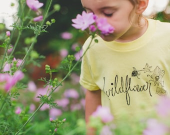 Multiple Options ~ Wildflower Kids Tee's - Original and Ethical fashion