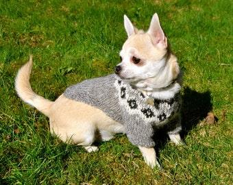 Kvasir Icelandic Pet Icelandic Sweater - Handmade with 100% Pure Icelandic Light Wool