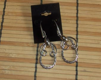 Twisted Rope Earrings FREE SHIPPING!