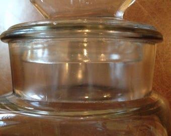 Rare Franklin Caro gum jar
