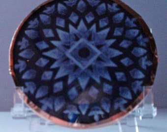 Hematite Mandala Disc