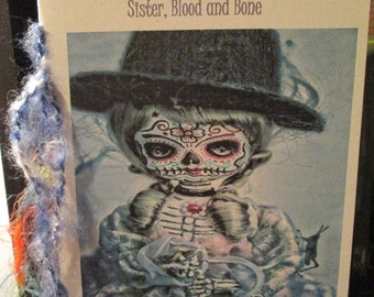 Set of TWO - Your choice of two 2013 Poetry Chapbooks - Sister, Blood and Bone by Paula Cary and one more (details below)