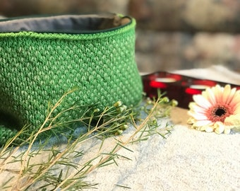 Spring Clutch/Bag with Lining and Zipper