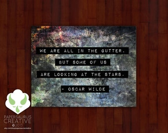 Blank greeting card set: Oscar Wilde quote cards — set 1
