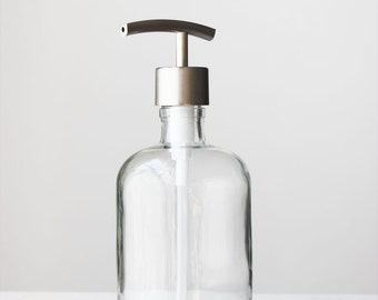 Recycled Glass Soap Dispenser