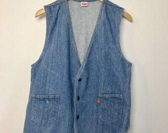 Levis Vintage Denim Vest CampLife Fashion