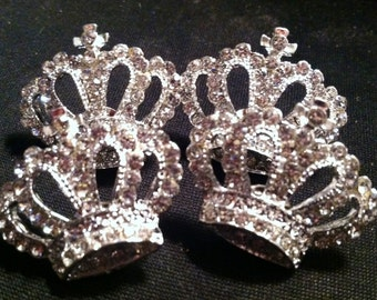 Sparkling Rhinestone Crown Push Pins for Cork Boards Bling Bling GREAT Gift