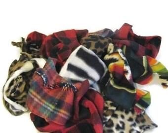 ON SALE Fabrics, Scraps, Fleece, Quilting, Patchwork, Quilts, Sewing, Fiber Arts, Gifts, Throws, Gallon, Bag, Fiber, Crafts