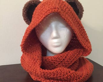 Ewok Hood and Cowl