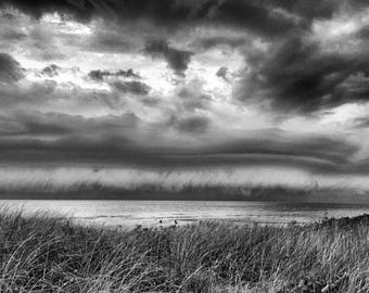 A Stormy Day at Cape May