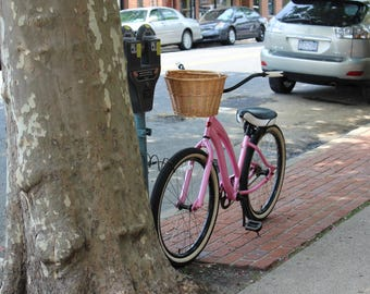 Pink Bicycle - Travel Photography
