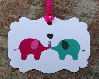 Elephant  Love - Tags