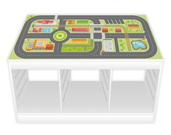Game film for TROFAST shelf city life (furniture not included)