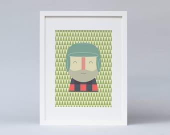 Lumberjack (Print)