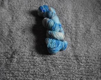 Blue Shimmer/ Sparkle Sock Yarn