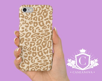 Leopard Print Small Design iPhone X, 8, PLUS, 7, 6S, 5S, SE Cases, Samsung Galaxy S9, S8, S7, S6 Case - CN-204