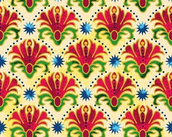 Bollywood Bliss Collection Royal Raja by Jane Spolar for Northcott 1 yard NEW 3829M-49