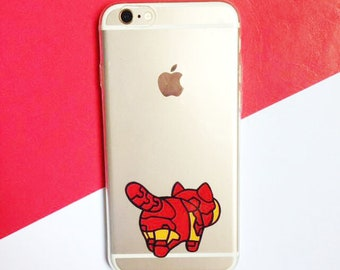 Hand painted Iron Man phone case, iPhone X case, iPhone 8 case, iPhone 7 case, Cat phone case , Samsung Galaxy S8 Plus Case, Note 8 Case