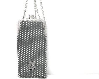 Glasses case | Cell phone case | Polka dots